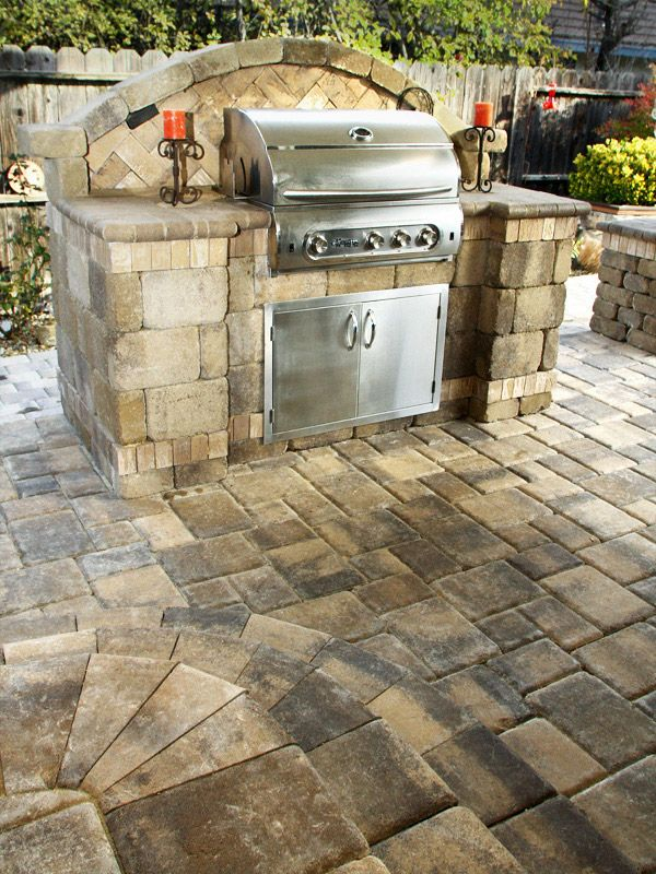 17 best images about Built-in Grills & BBQ Islands on ... on Backyard Patio Grill Island id=58830