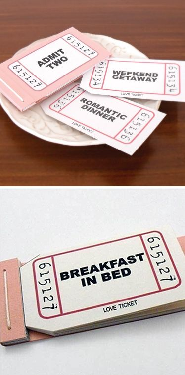 Inspiration DIY – Fun idea to make. Naughty or Nice Vouchers.