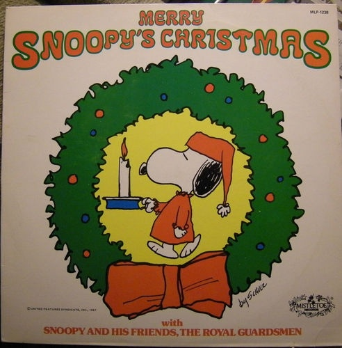 snoopy christmas record