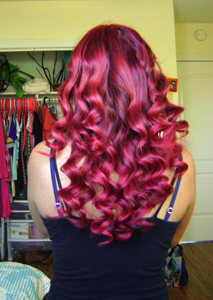 Red Hair Without Bleach LOreal Hi Color Highlights