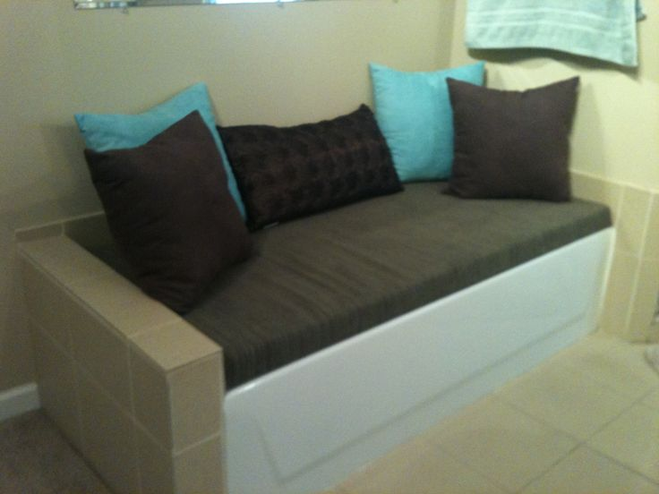 Bed Over Bathtub.
