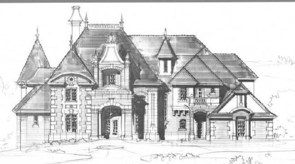 Luxury house plans for castles, manors, chateaux and ...