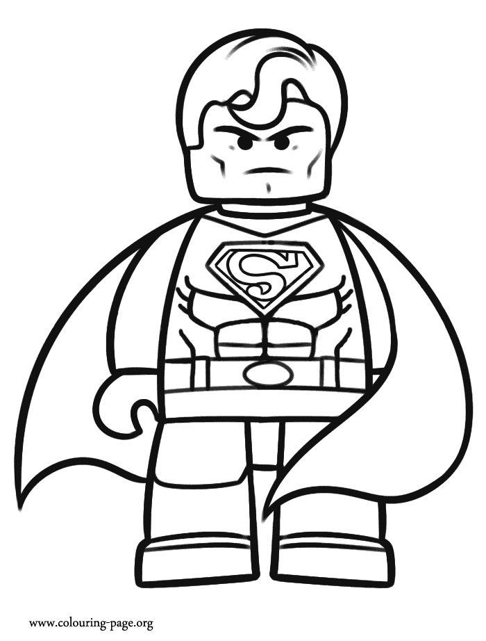 lego superman  birthday cake helps  pinterest  coloring
