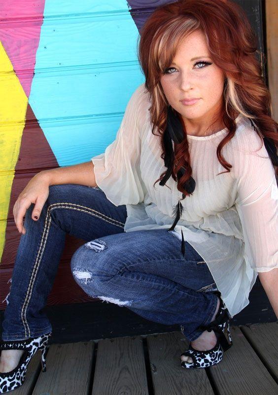 I LOVE This Hair Coloring Redish Brown Hair Black Under