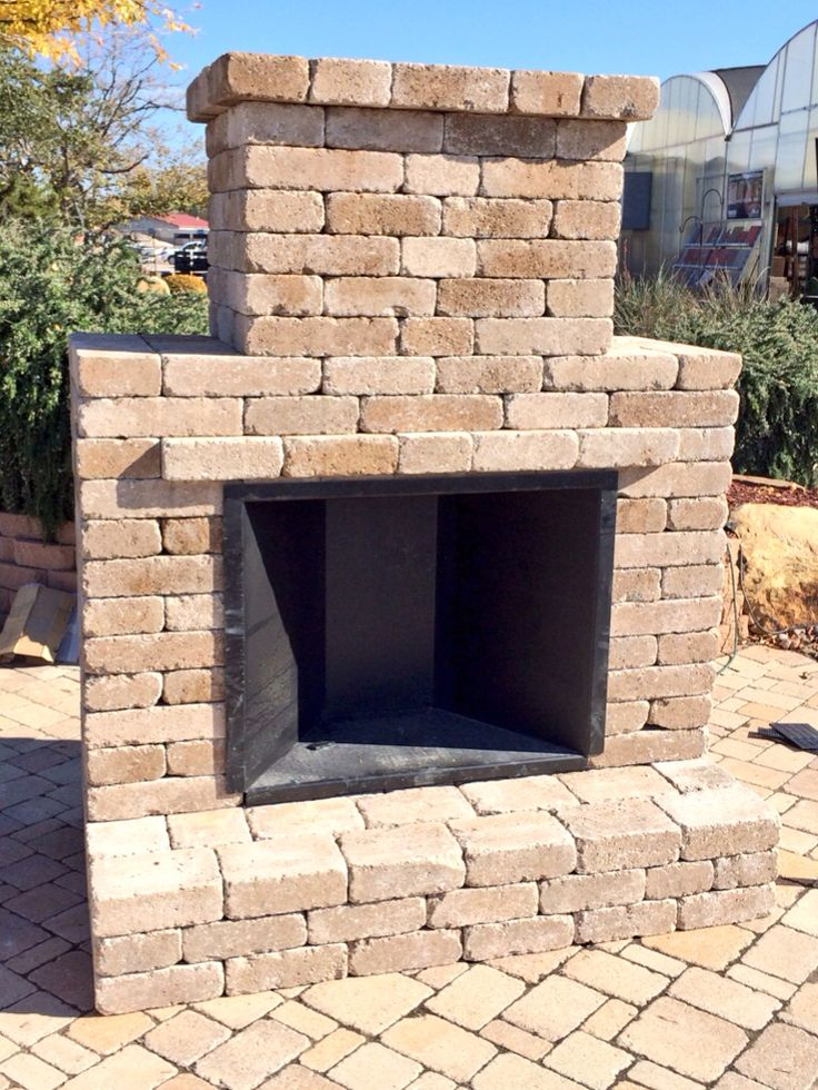 Simple And Elegant Outdoor Fireplace Kit By Whiz Q Stone