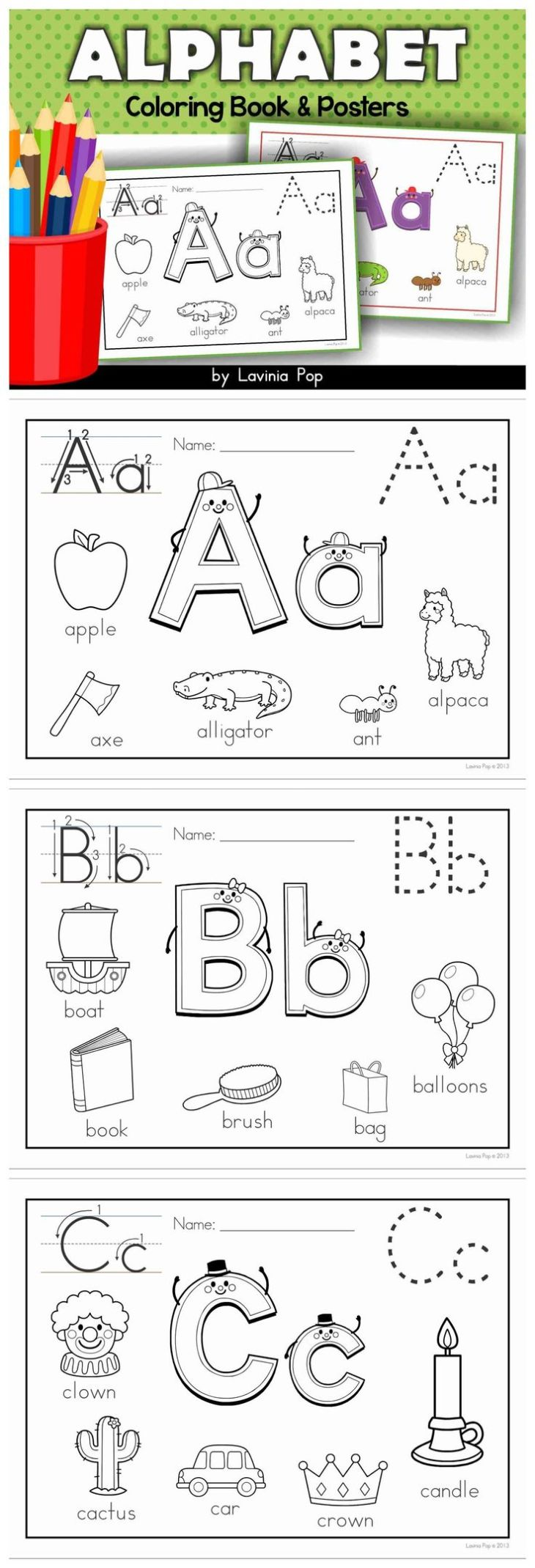 best images about Letter Tracing on Pinterest Emergent readers