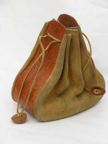 Medicine Bag could be done with a belt and scrap