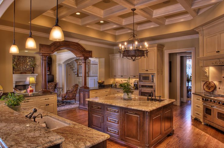 big luxury kitchen beautiful rooms pinterest on kitchen design remodeling ideas better homes gardens id=57298
