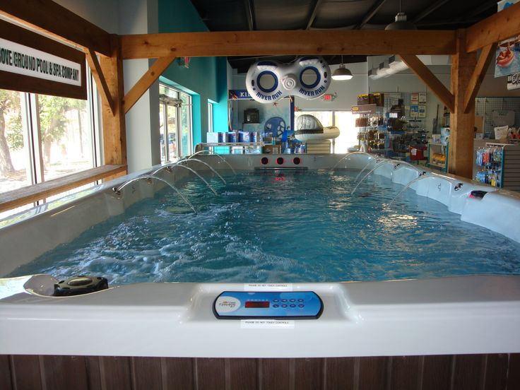 AGP Swim Spas Beat Swimming