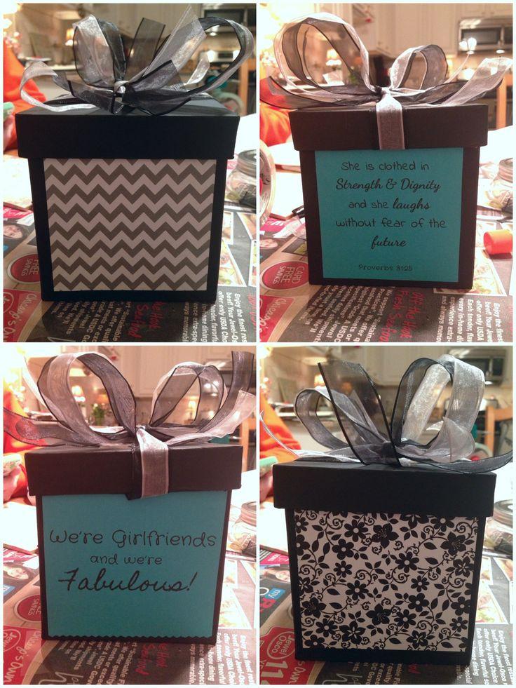 Diy gift box i made for my friends 18th birthday diy
