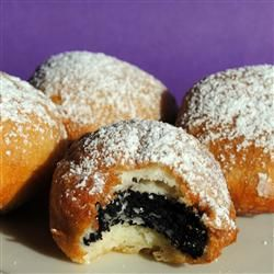Deep Fried Oreos…..these are insanely delicious, had a friend make some for me once. Glad I found a recipe!!