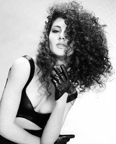 beautiful rebellious curls