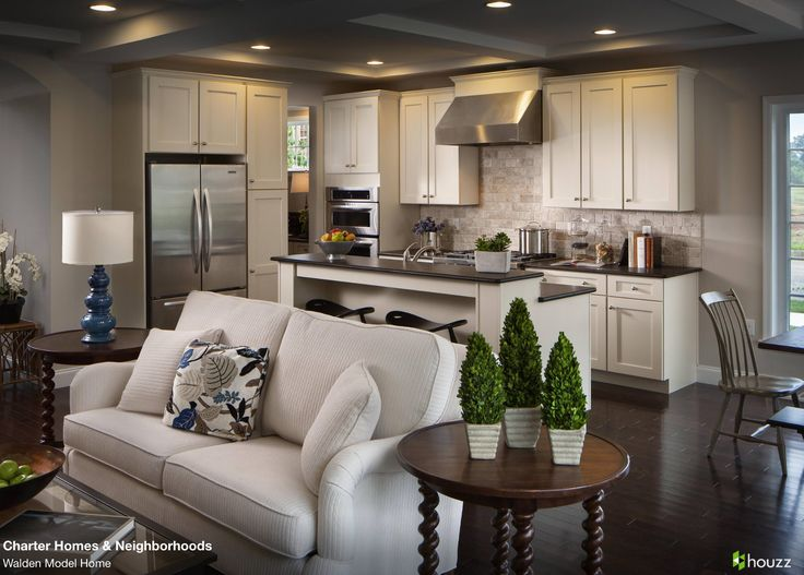 Beautiful Open Kitchen And Living Room Area. Love The Feel