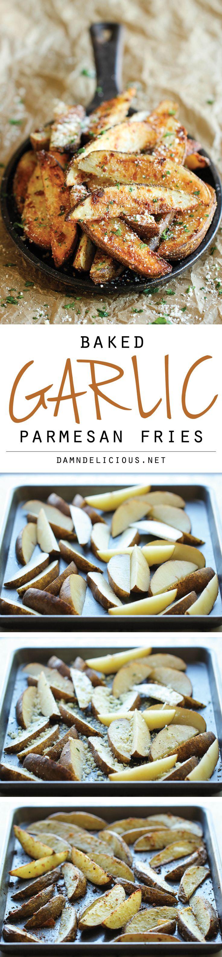 Garlic Parmesan Fries – Ama