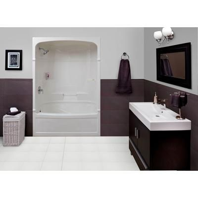 Mirolin Victoria 60 Inch 3 Piece Acrylic Tub And Shower Left Hand VIC53L Home Depot Canada