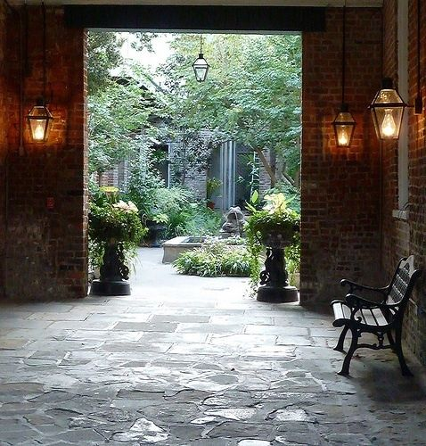 28 Best Images About New Orleans Courtyards On Pinterest