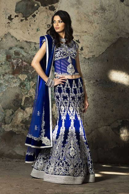 Fish Cut (Mermaid) Lehenga