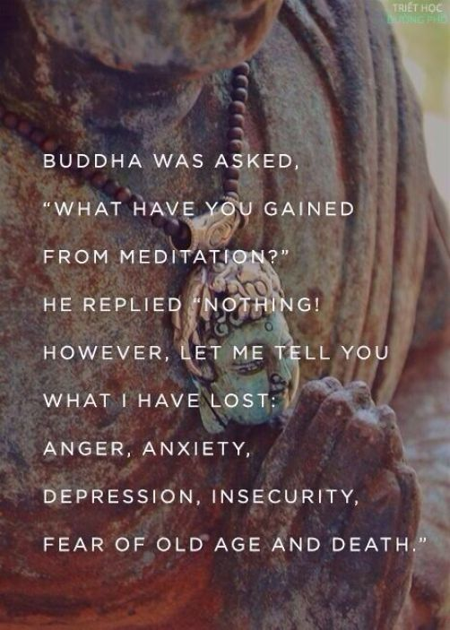 It's not about gaining. It's about losing. Shedding harsh skin. #buddha #quotes