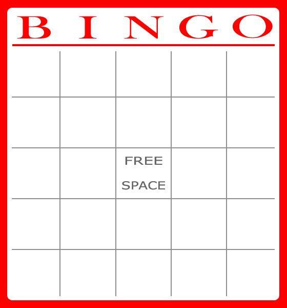 Free Bingo Card Template Download Bingo Christmas
