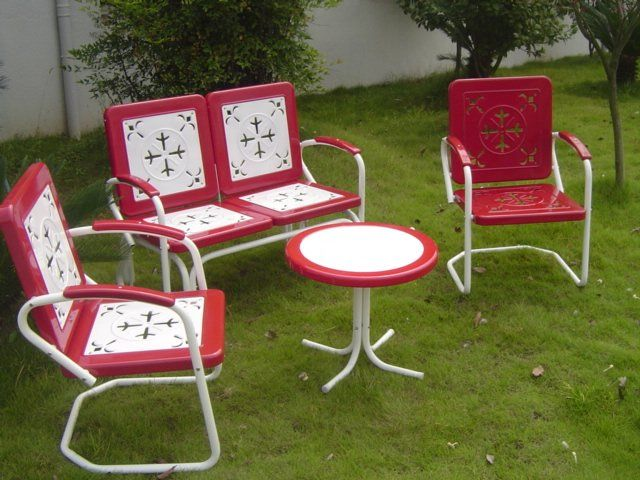 Best 25+ Vintage Patio Furniture Ideas On Pinterest