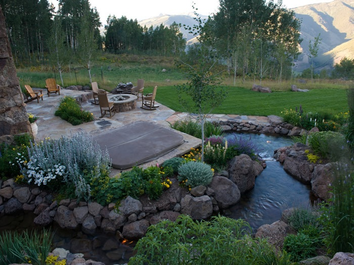 17 Best images about Landscape Styles on Pinterest | Rocky ... on Mountain Backyard Ideas id=25436