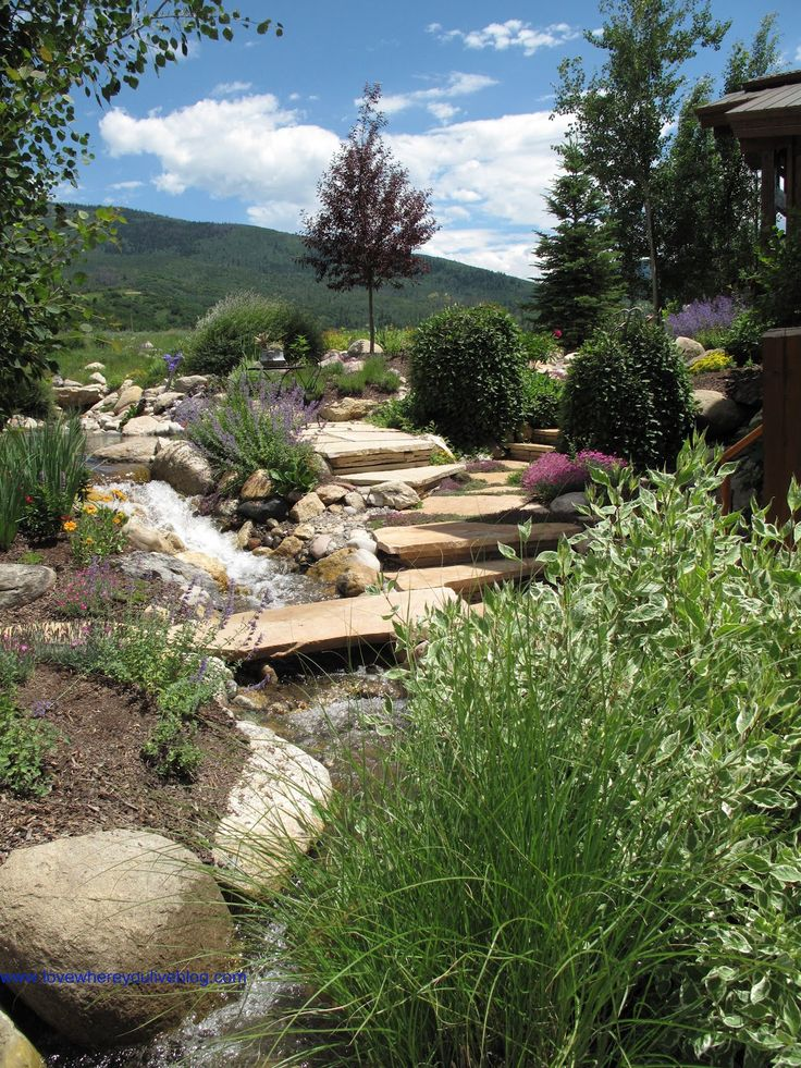 21 best images about Landscaping - Mountain Style on ... on Mountain Backyard Ideas id=66241