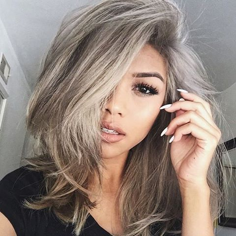1000 ideas about grey ash blonde on pinterest ash blonde blonde hair and longer pixie haircut