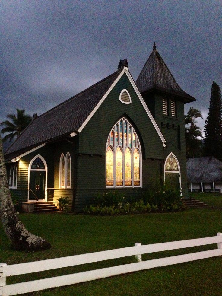 Hanalei Kauai Hawaii Church The Big Day Pinterest