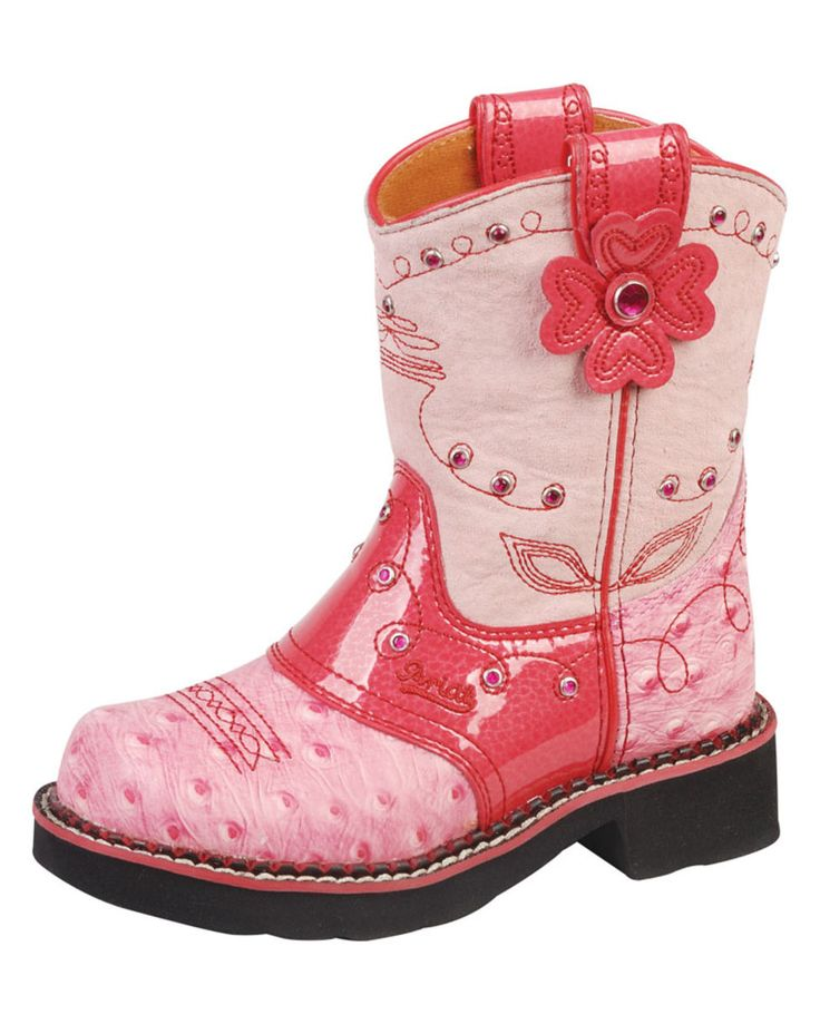 Ariat Kid's Fatbaby Flower Boot – Country Outfitter – so cute for a little g
