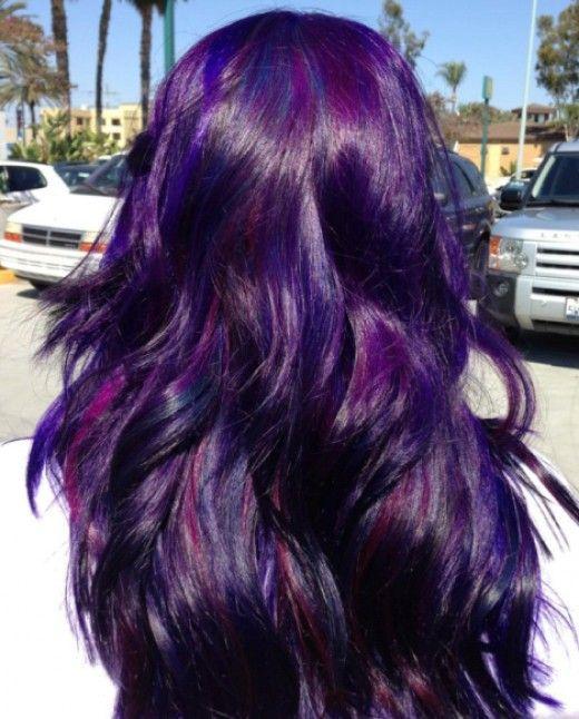 25 Best Ideas About Violet Hair Colors On Pinterest