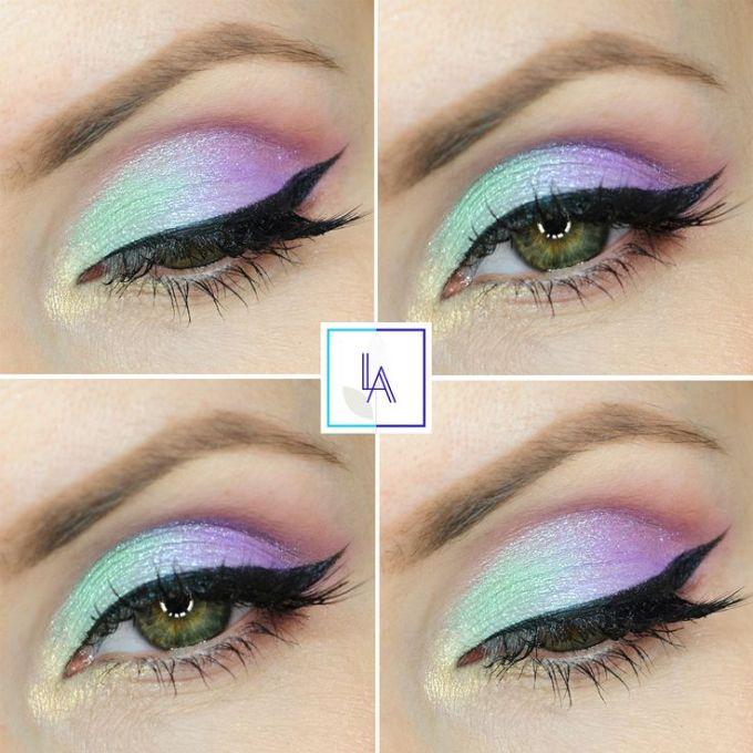 Unicorn Eye Makeup Tutorial Jidimakeup