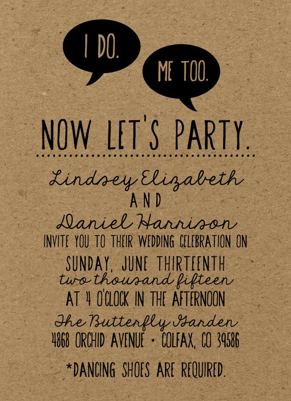 The Best Wedding Invitation Blog Funny Invitations