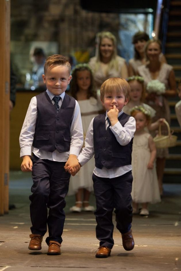 page boys Old Fashioned Romantic Wedding http://baughanphotography.co.uk/: