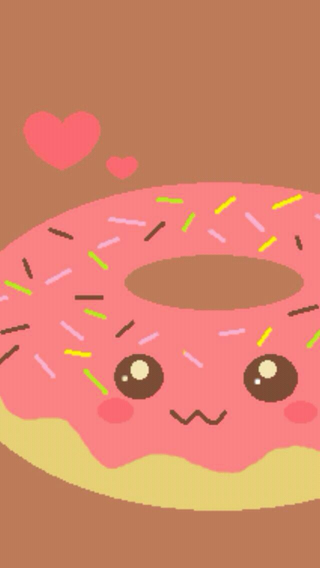 Donut Wallpaper WALLPAPERS Pinterest Wallpapers