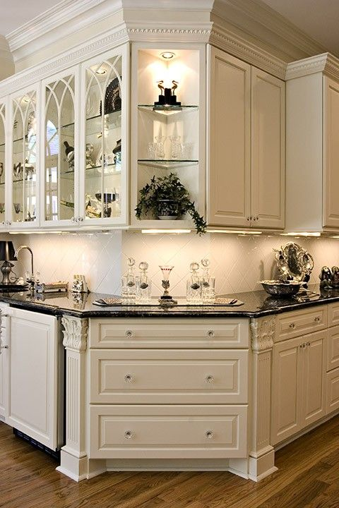 155 best images about glass cabinets on pinterest kitchen cabinets antique white kitchens and on kitchen cabinets with glass doors on top id=28650
