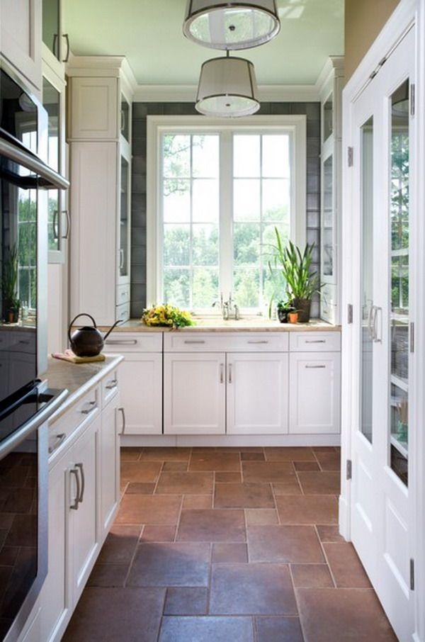 223 best images about kitchen floors on pinterest kitchen floors painted floors and galley on kitchen flooring ideas id=86249
