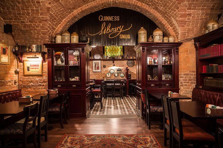 Irish Pub Interior Design Idea - House Designer Today •