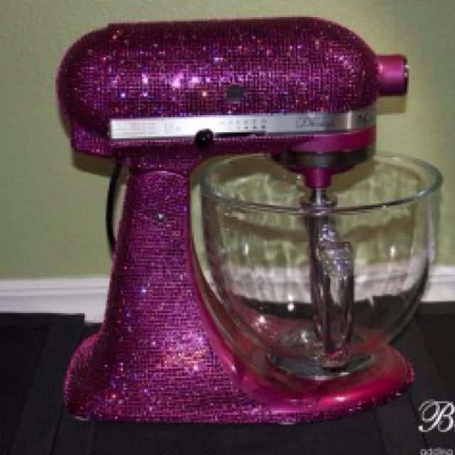 Kitchen Aid Mixer Dollhouse Miniatures Pink Kitchenaid