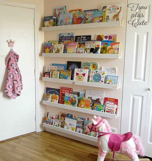 Use The Empty E Behind Your Doors For Books Farmhouse Bookcasesdiy Bookcasesbookshelf Ideasbookshelves