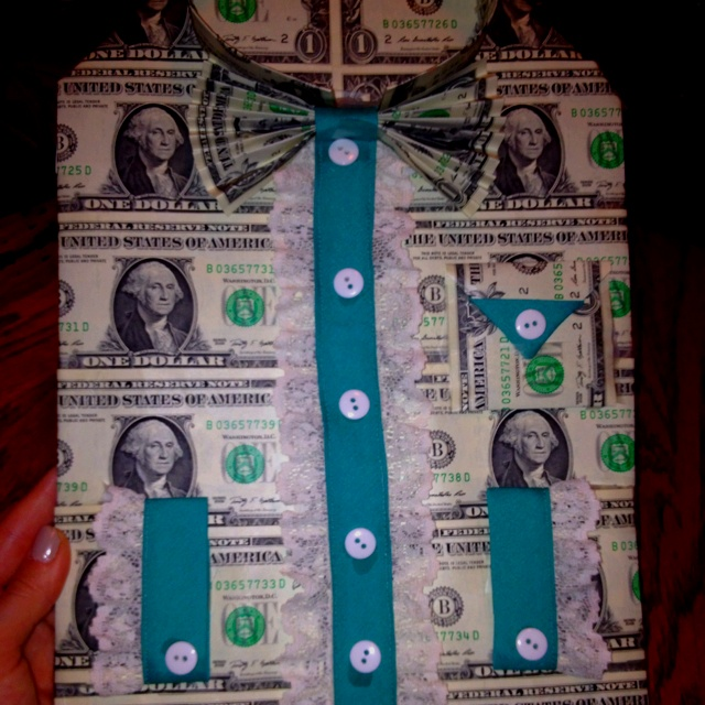 Money Shirt Perfect Gift Made Out Of Money Pinterest