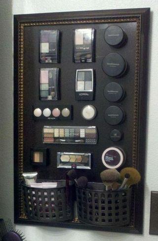 DIY Magnetic Make Up Board - Useful Wedding Gift