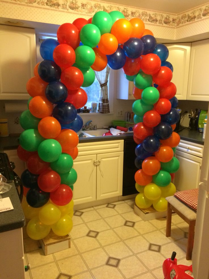 Diy balloon arch paw patrol party pinterest diy and