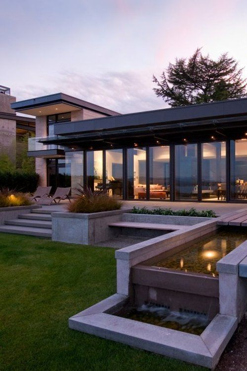 276 Best Images About Flat Roof Houses On Pinterest
