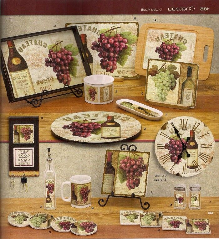 17 best images about grape grapevine kitchen on pinterest wine themed kitchen kitchen themes on kitchen ideas decoration themes id=35733
