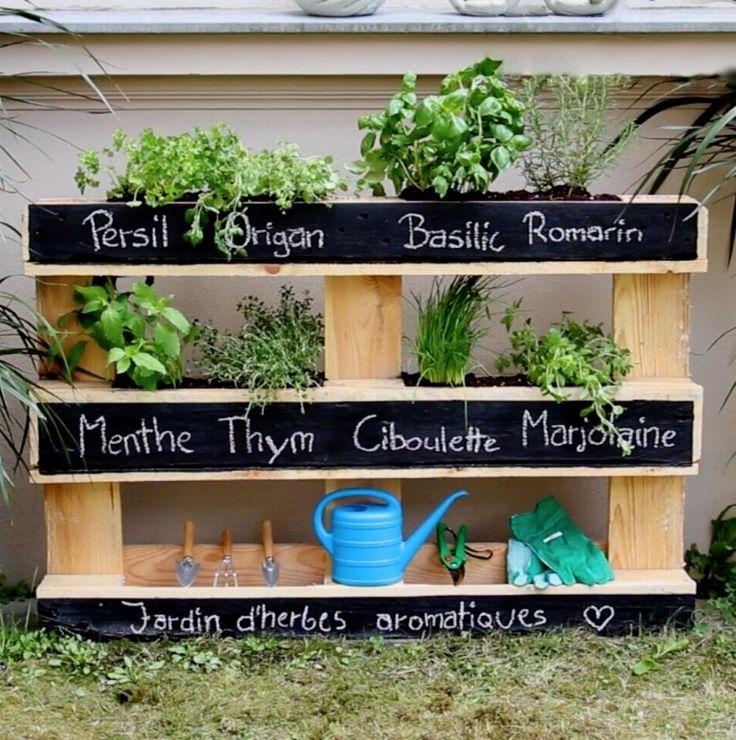 Les 25 Meilleures Ides De La Catgorie Jardinage Palette