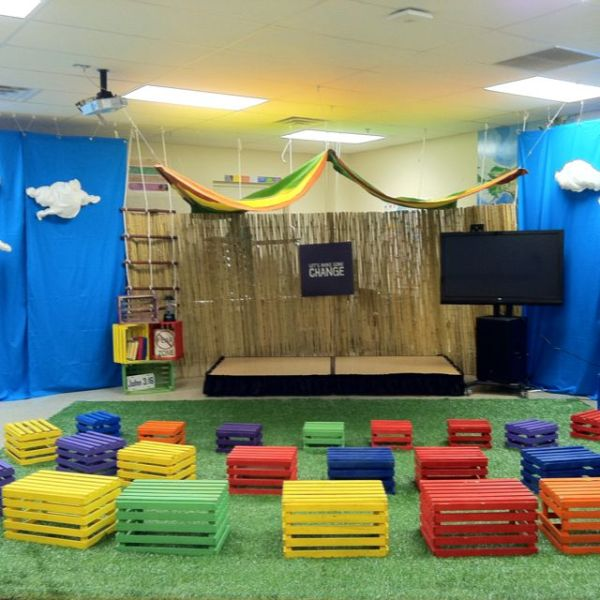 25+ best ideas about Kids Church Stage on Pinterest ...