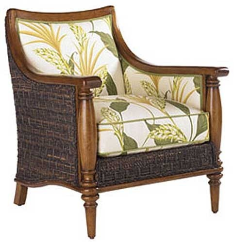 LX 1695 11 Tommy Bahama Island Estate Agave Chair In Plain