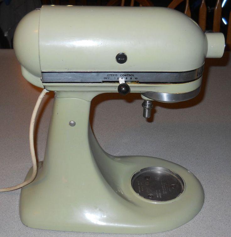 Vintage VTG Hobart KitchenAid K45 10 Speed HouseHold Mixer