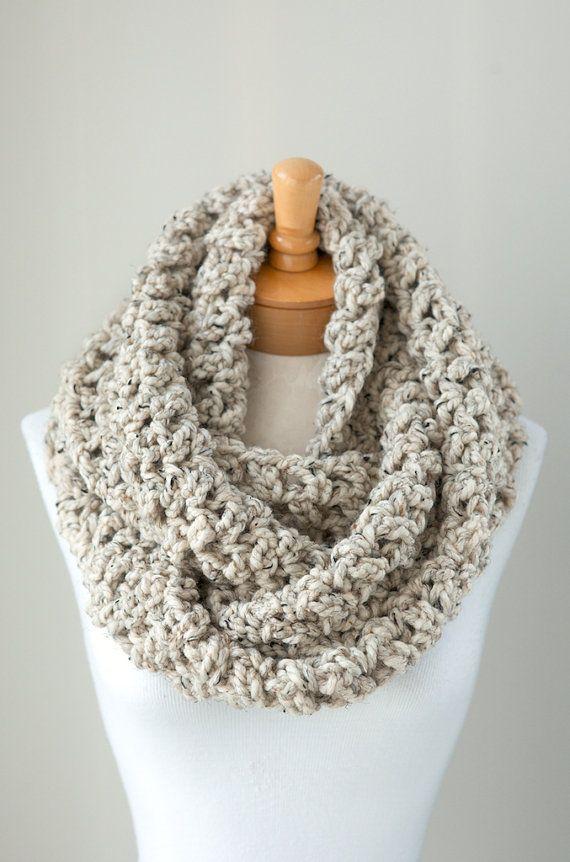 Eternity Circle Scarf Crochet Patterns