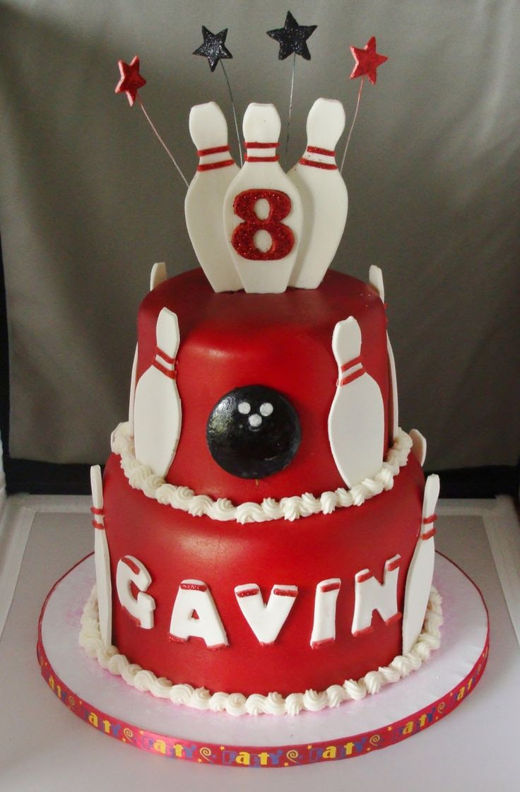 96 Best Images About Cakes Bowling On Pinterest Green